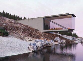 This Conceptual Lakehouse Dream Of Reza Mohtashami.