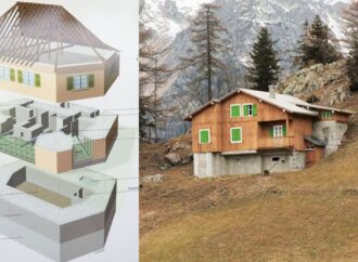 This Is How A Toblerone Bar And Fake Villas Defends Switzerland