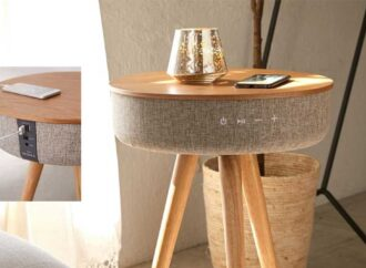 Multitasking Table with a Twist.